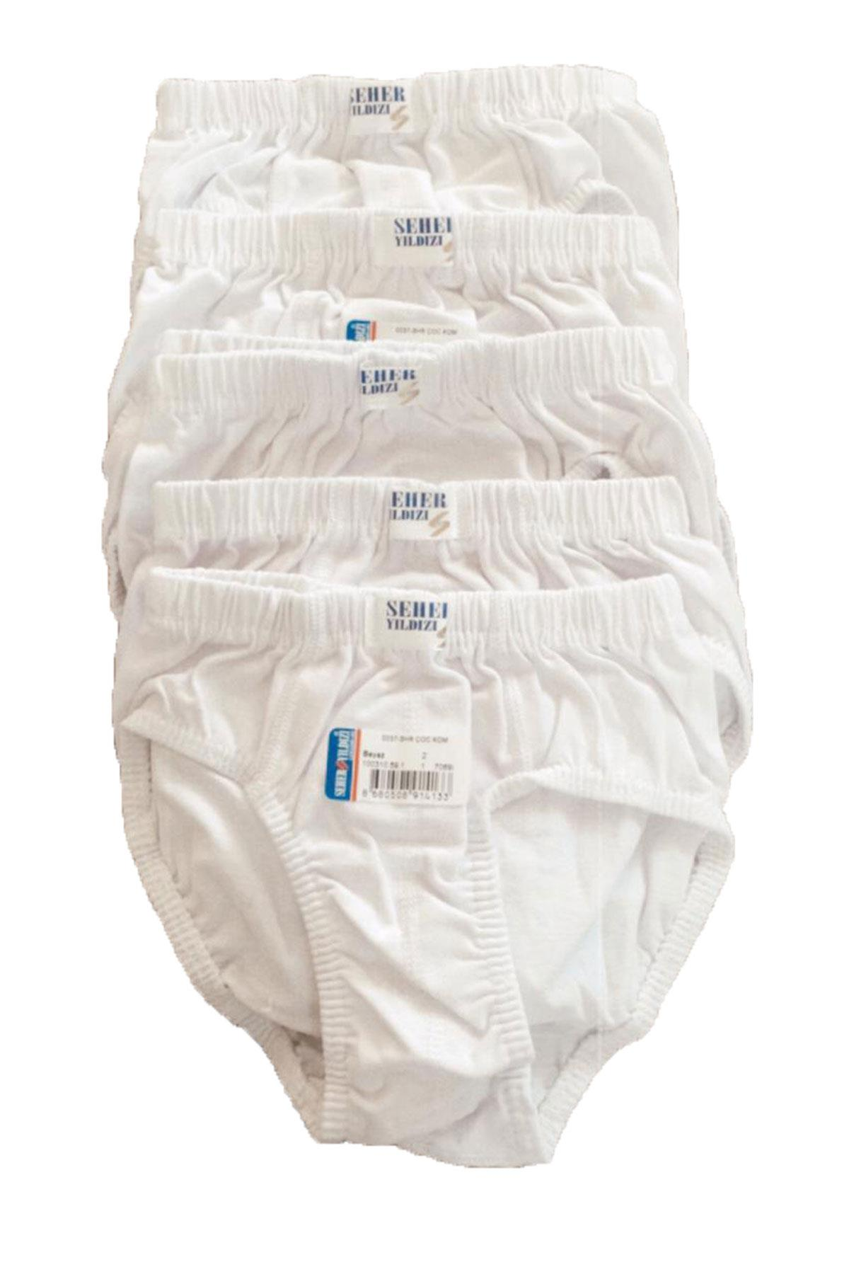 Boy's Cotton Panty- 6 Pieces