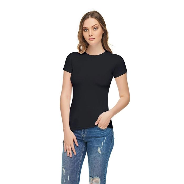 Women's Collarless Short Sleeves Lycra Camisole