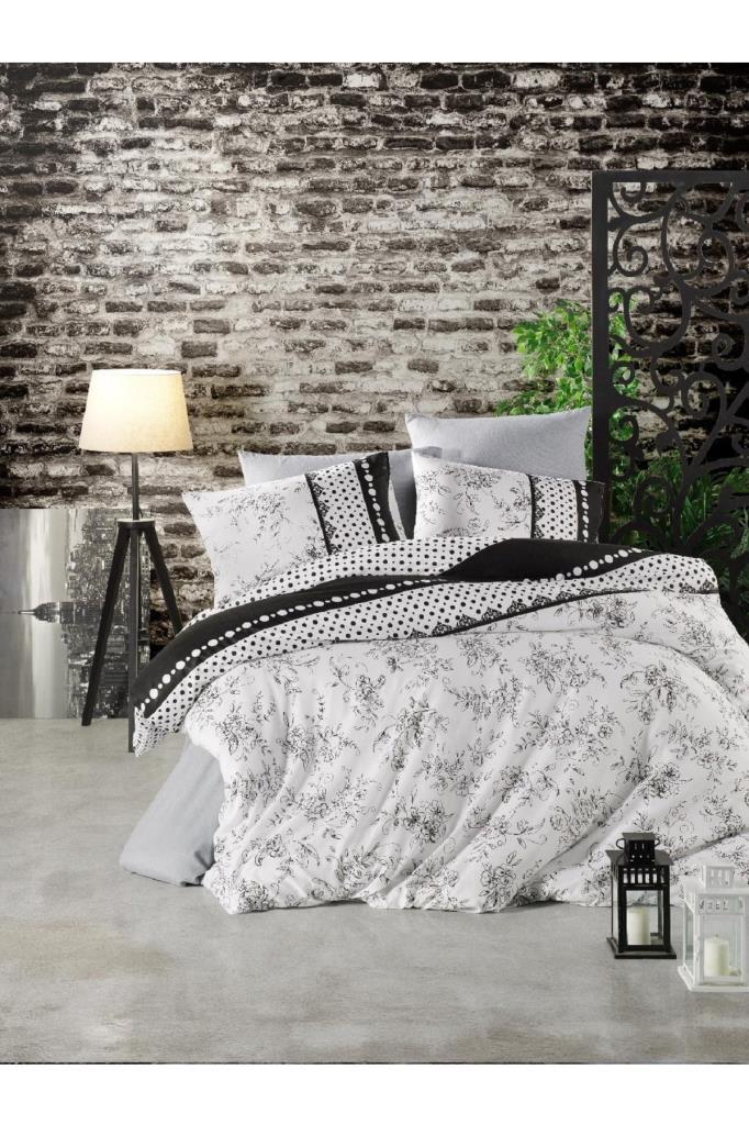 طقم غطاء سرير مزدوج: غطاء لحاف: 200*220 سم، ملاية: 240*260 سم، 2 قطعة غطاء وسادة: 50*70 سم