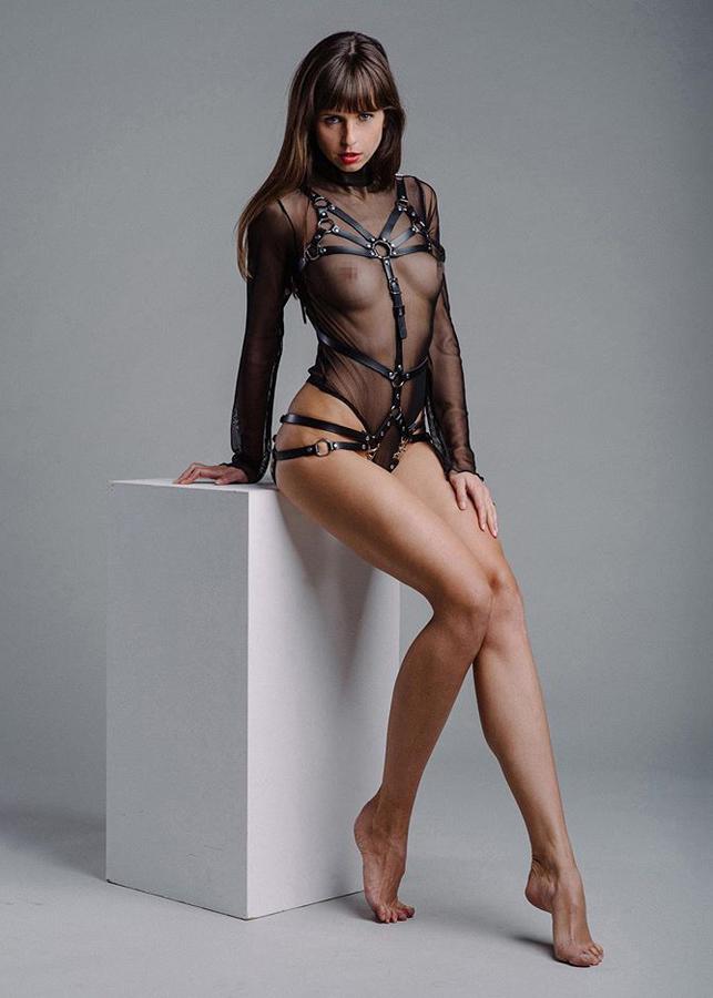 Women's Fantasy Erotic Leather Accessory