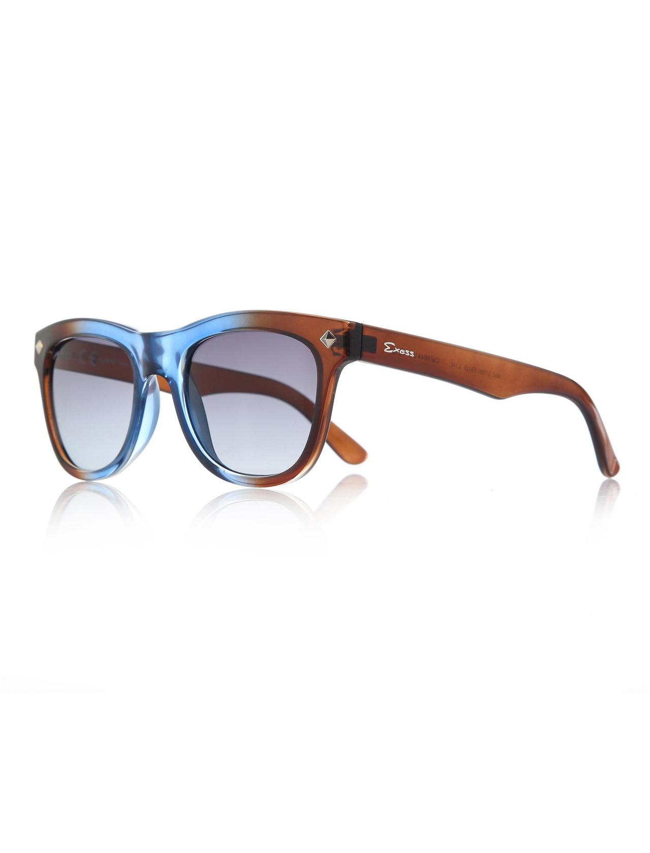 نظارة شمسية بلاستيك بنية للجنسين