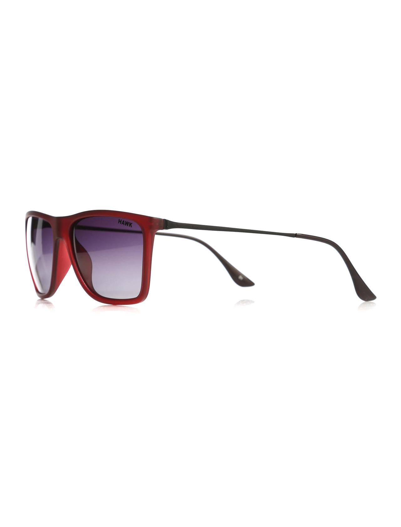 Unisex Red Frame Sunglasses
