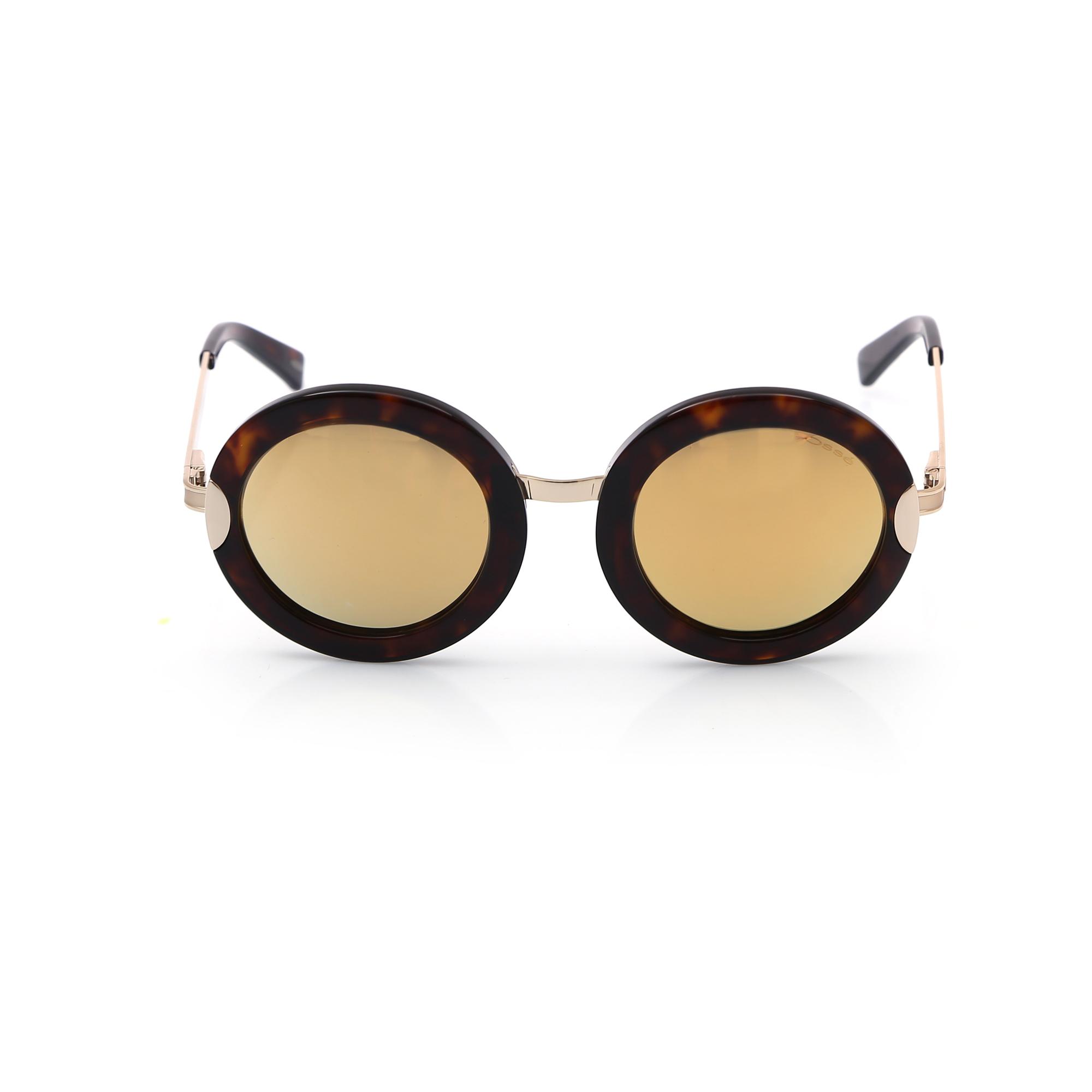 نظارة شمسية بإطار دائري نسائية