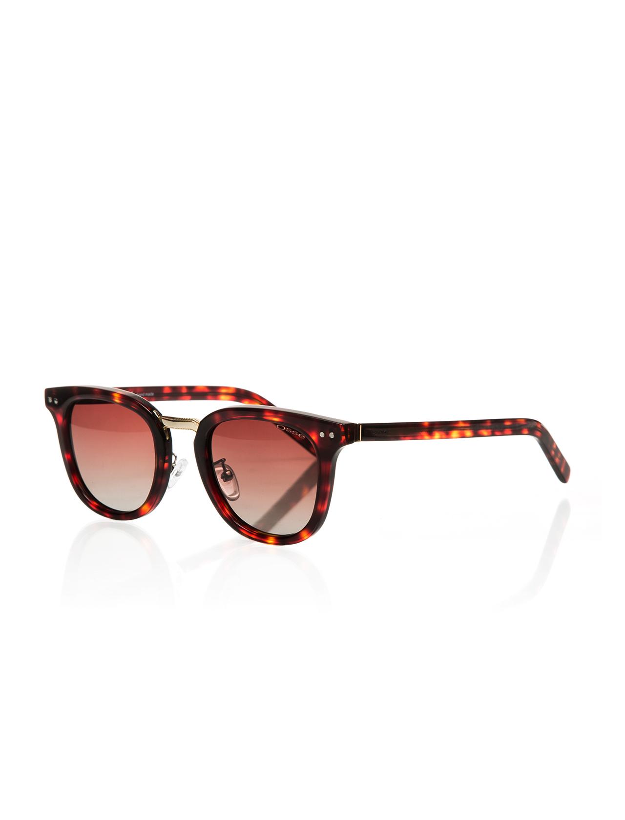 Unisex Patterned Frame Sunglasses