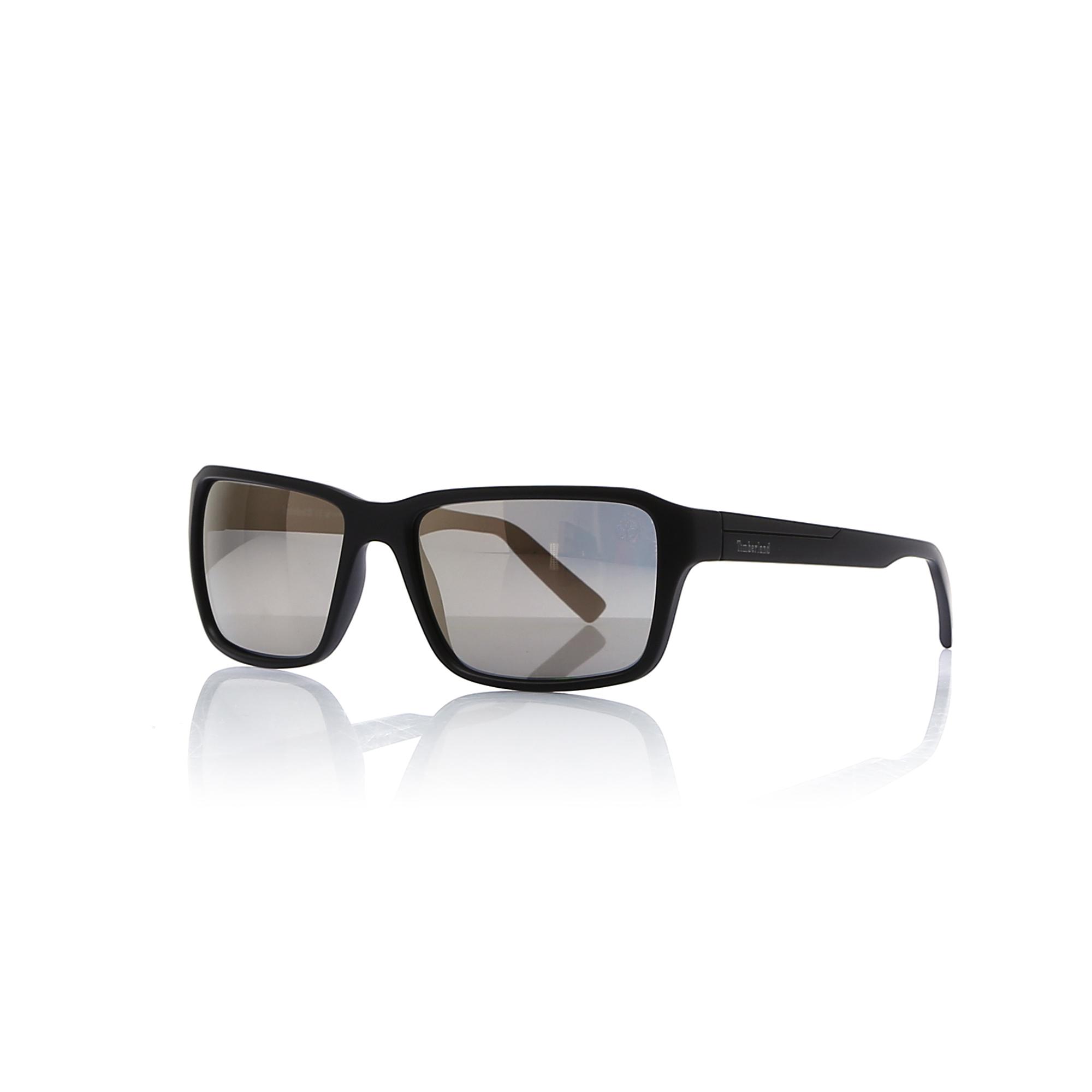 Men's Black Plastic Sunglasses