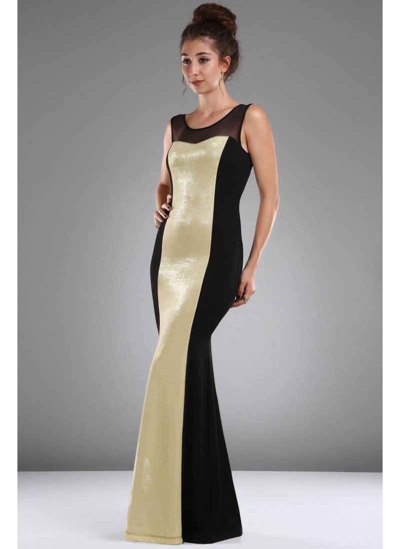 Vavin GOLDEN DRESS – Black