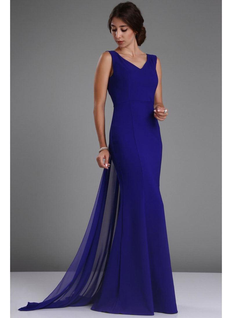 Vavin ELEGANT EVENING DRESS – Blue