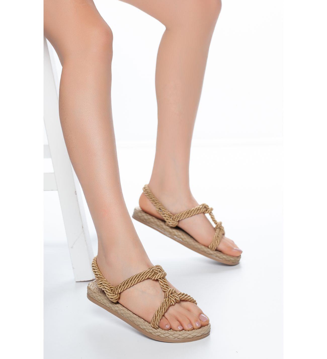 Women's Summer Straw Sandals