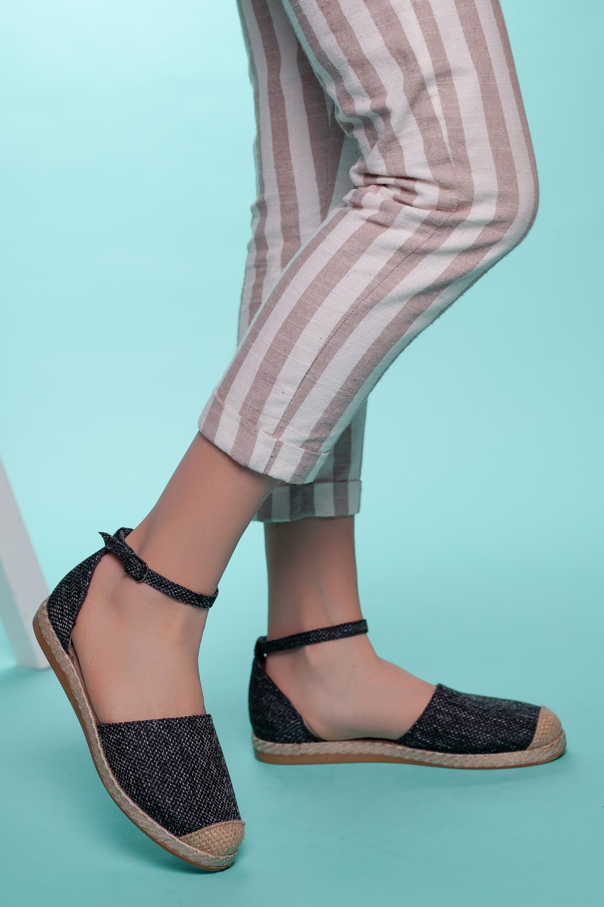 Women's Ankle Strap Espadrille Shoes