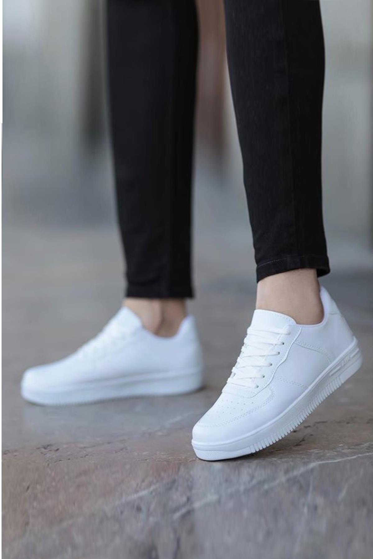 Unisex Lace-up Sport Shoes