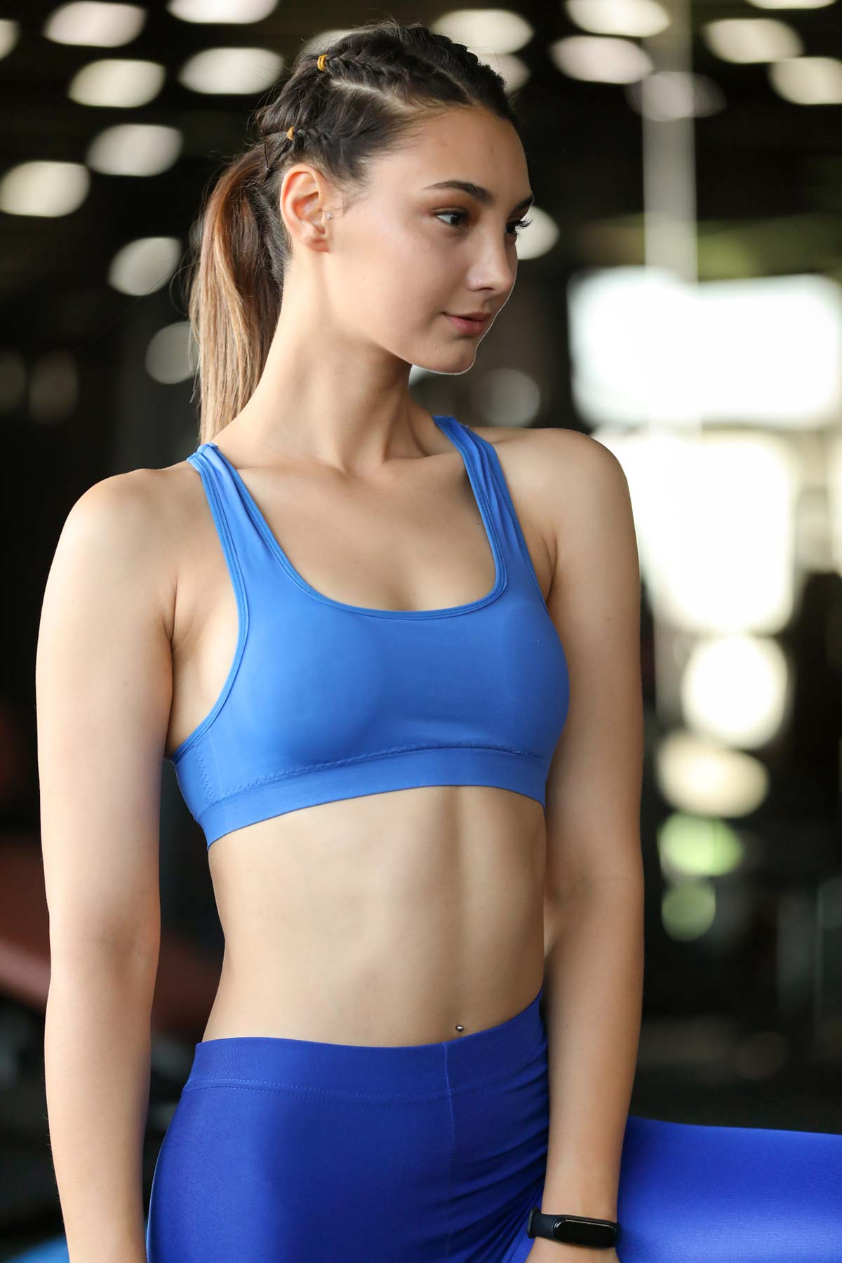 Blue Sport Bra