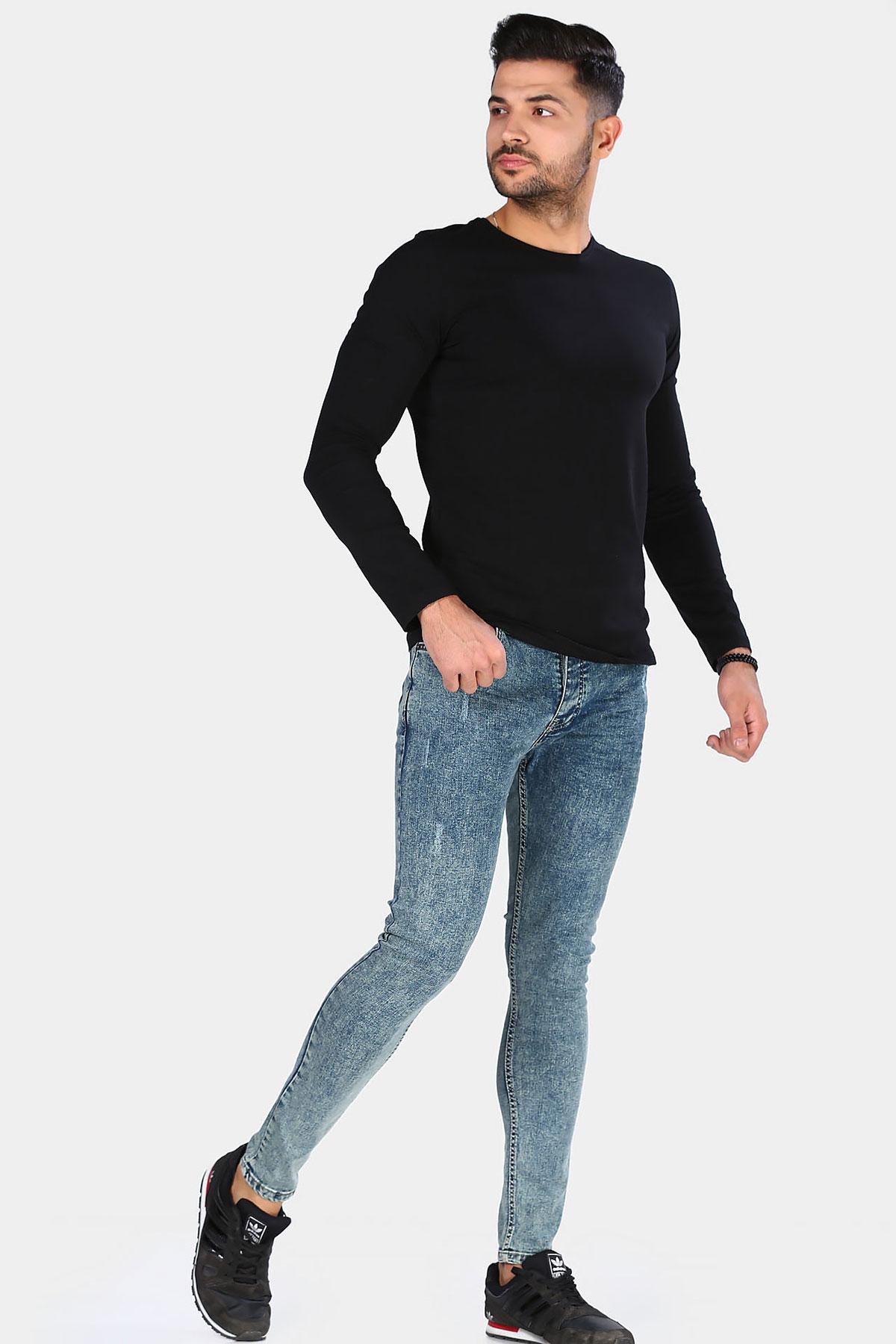 Pocket Grey Jeans