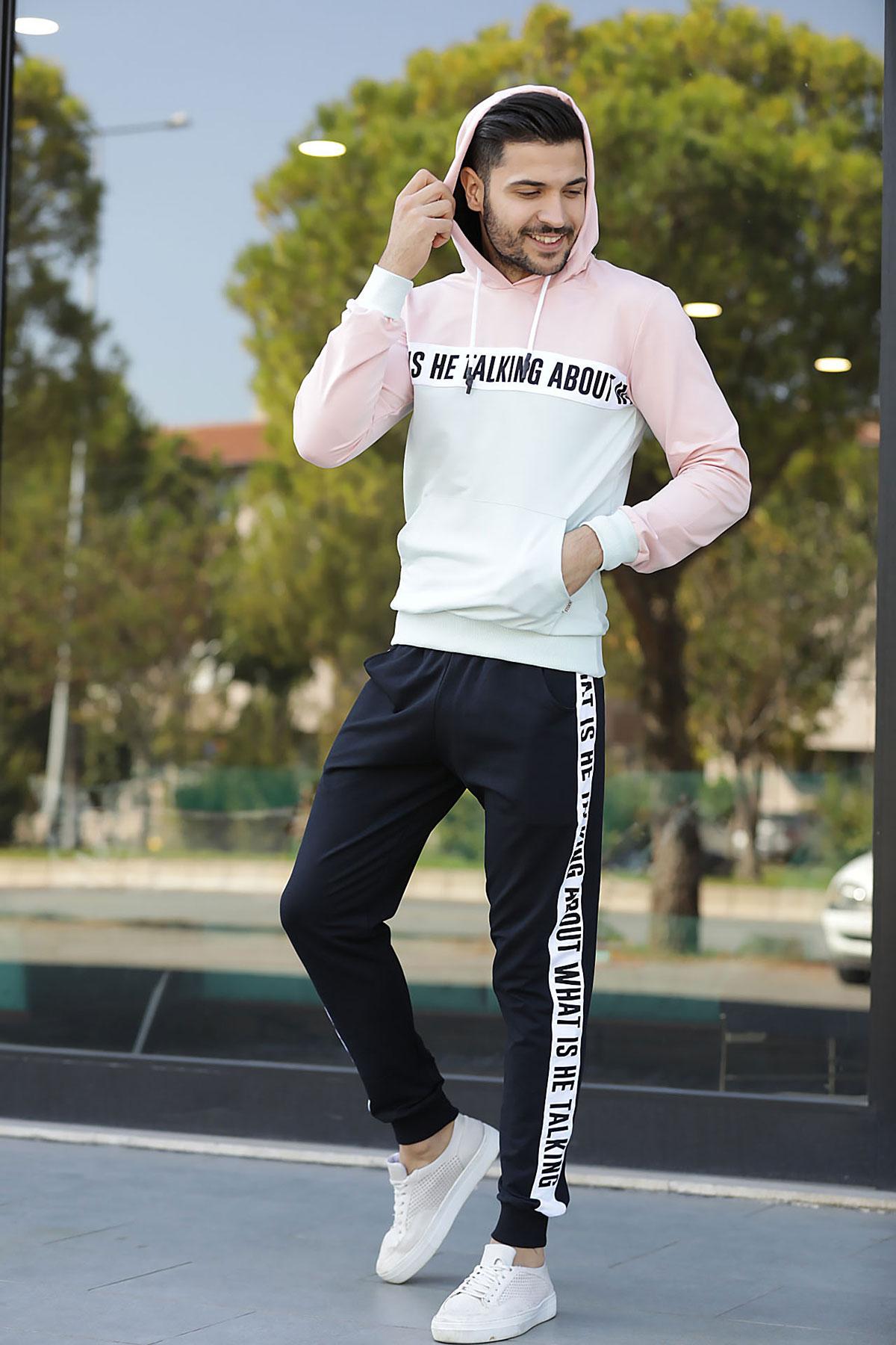 Men's Printed Sweat Suit