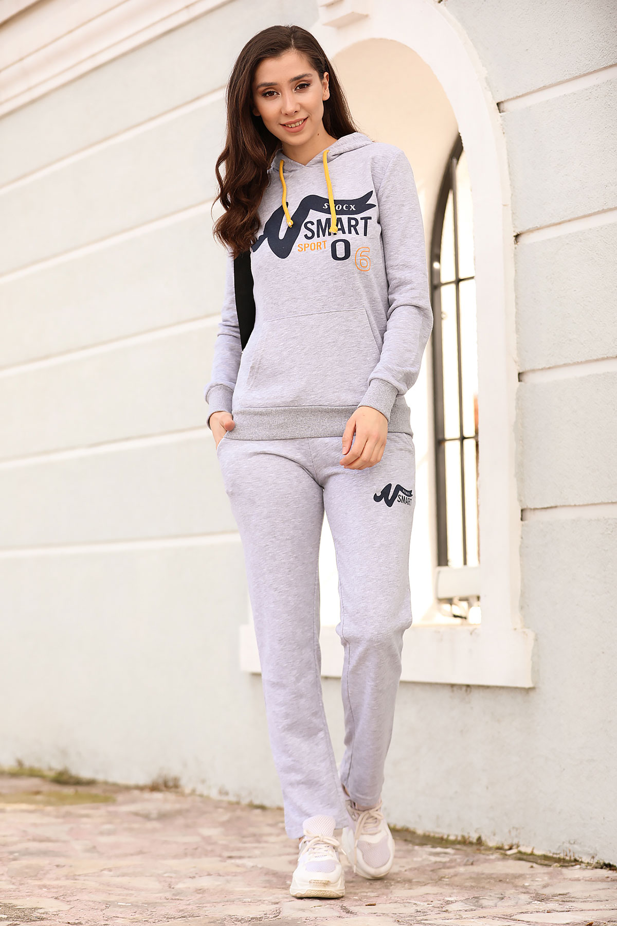 Hooded Grey Training Suit