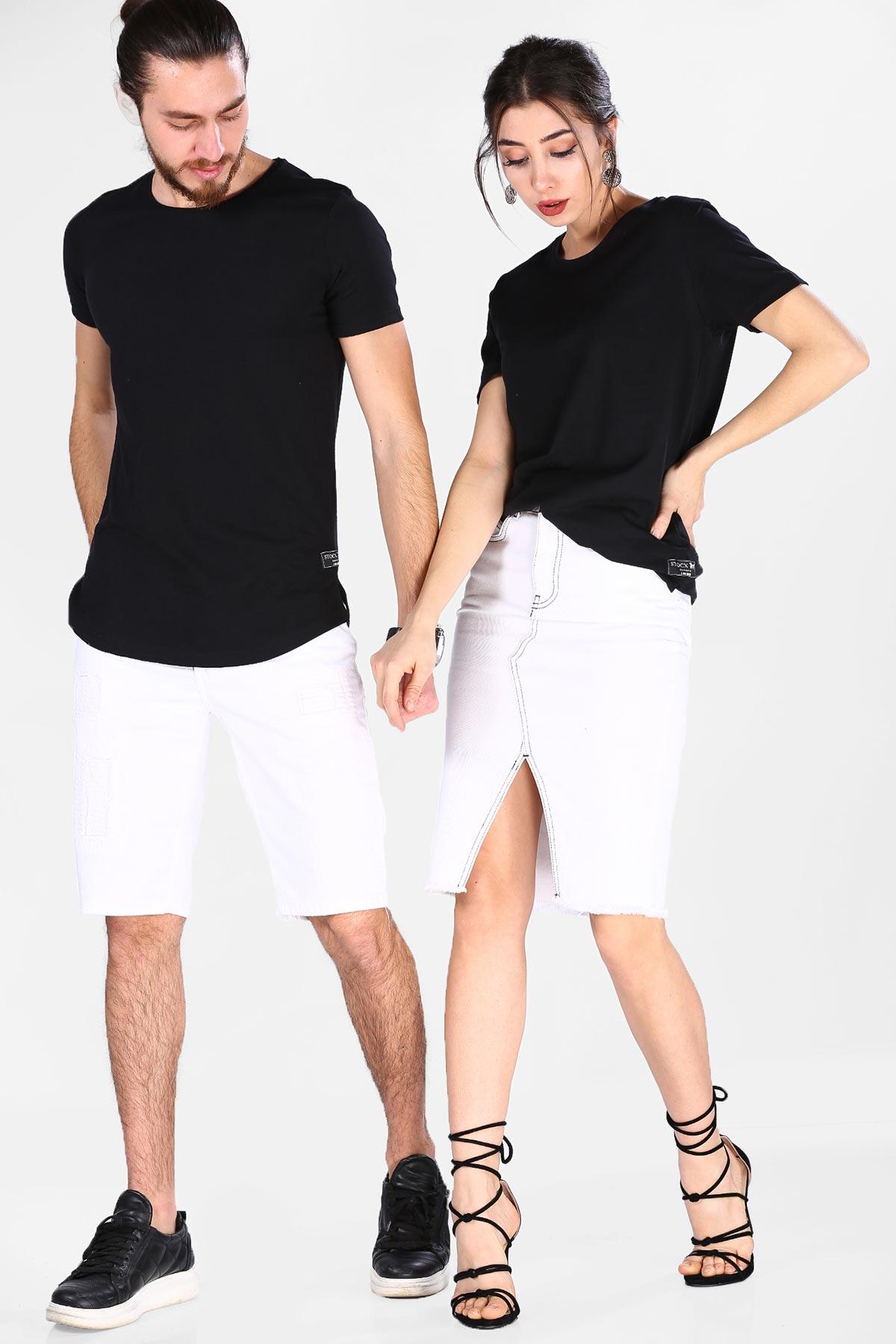 Unisex Basic Black T-shirt