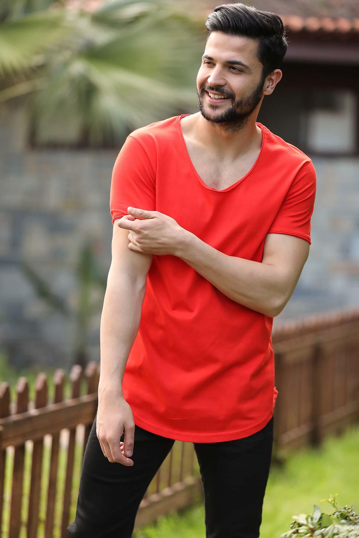Men's Basic Coral T-shirt