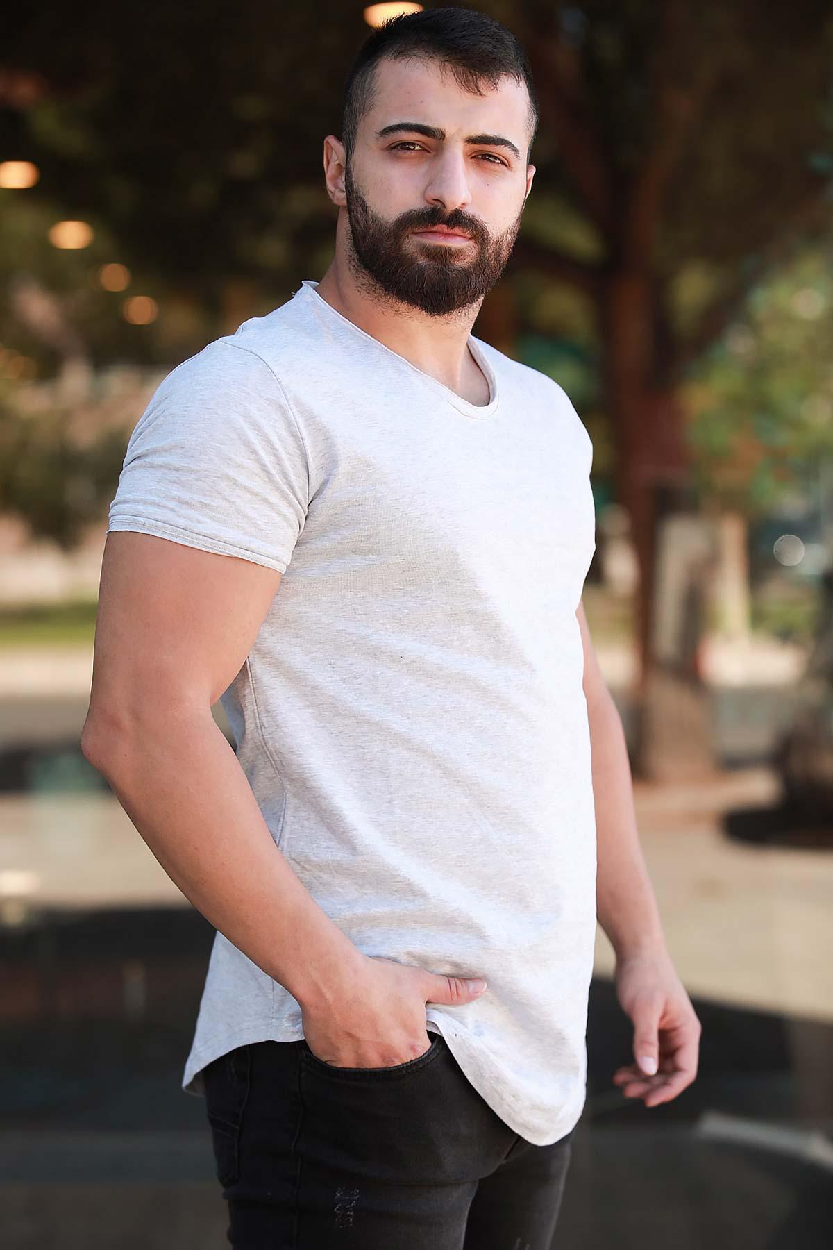 Men's Light Grey T-shirt