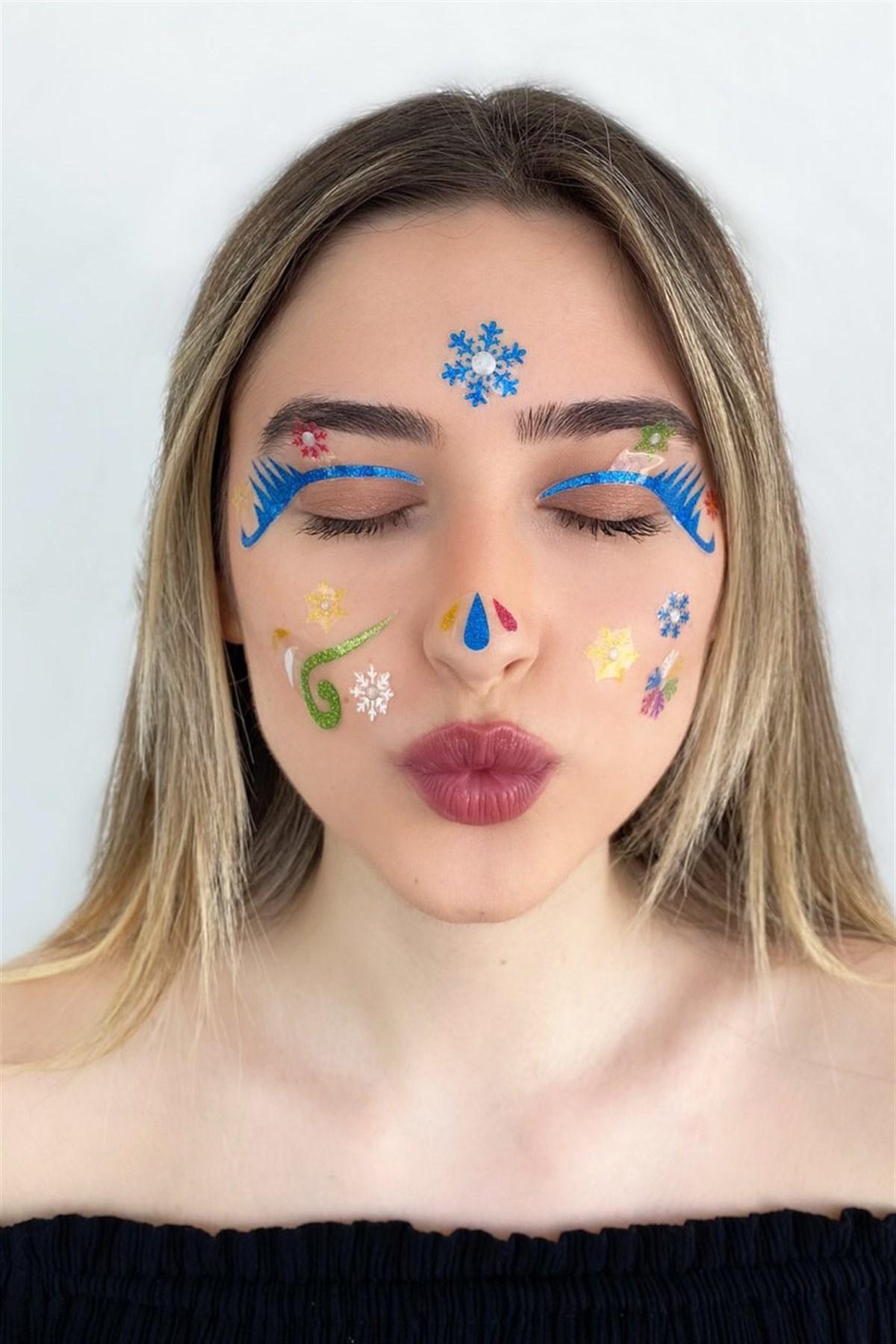 Self-Adhesive Face Sticker / Tattoo