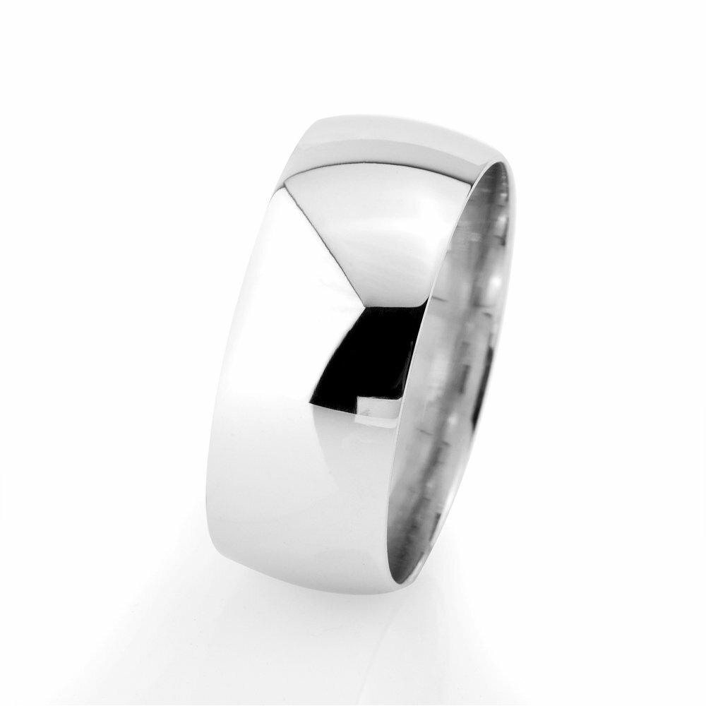 Men's Classic 925 Carat Silver Wedding Ring