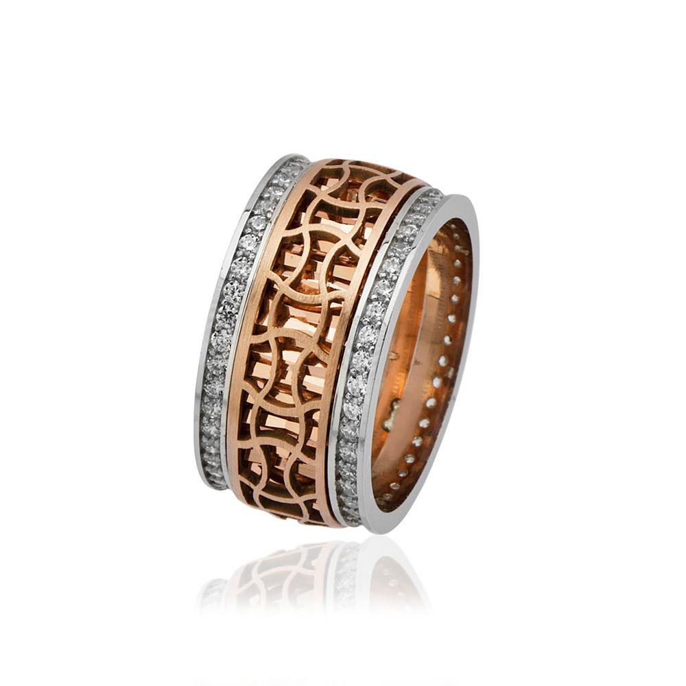 Women's Special Design Zircon Gemmed 925 Carat Silver Ring