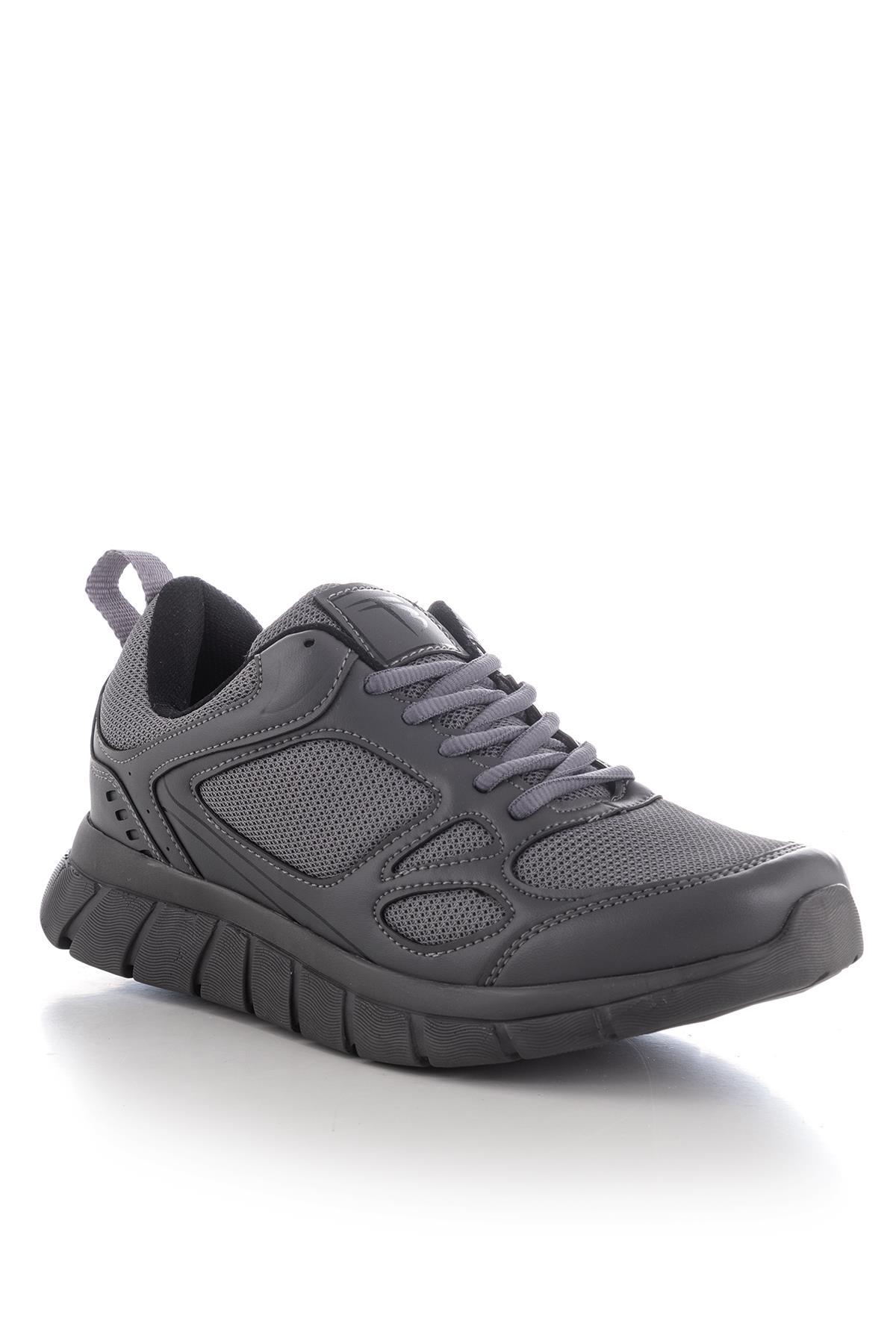 حذاء رياضة رمادي غامق للجنسين