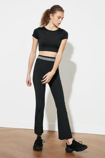 Women's Black Sport Sweatpants