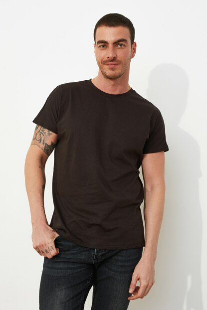 Men's Oversize Brown T-shirt