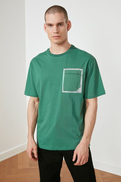 Men's Oversize Green T-shirt