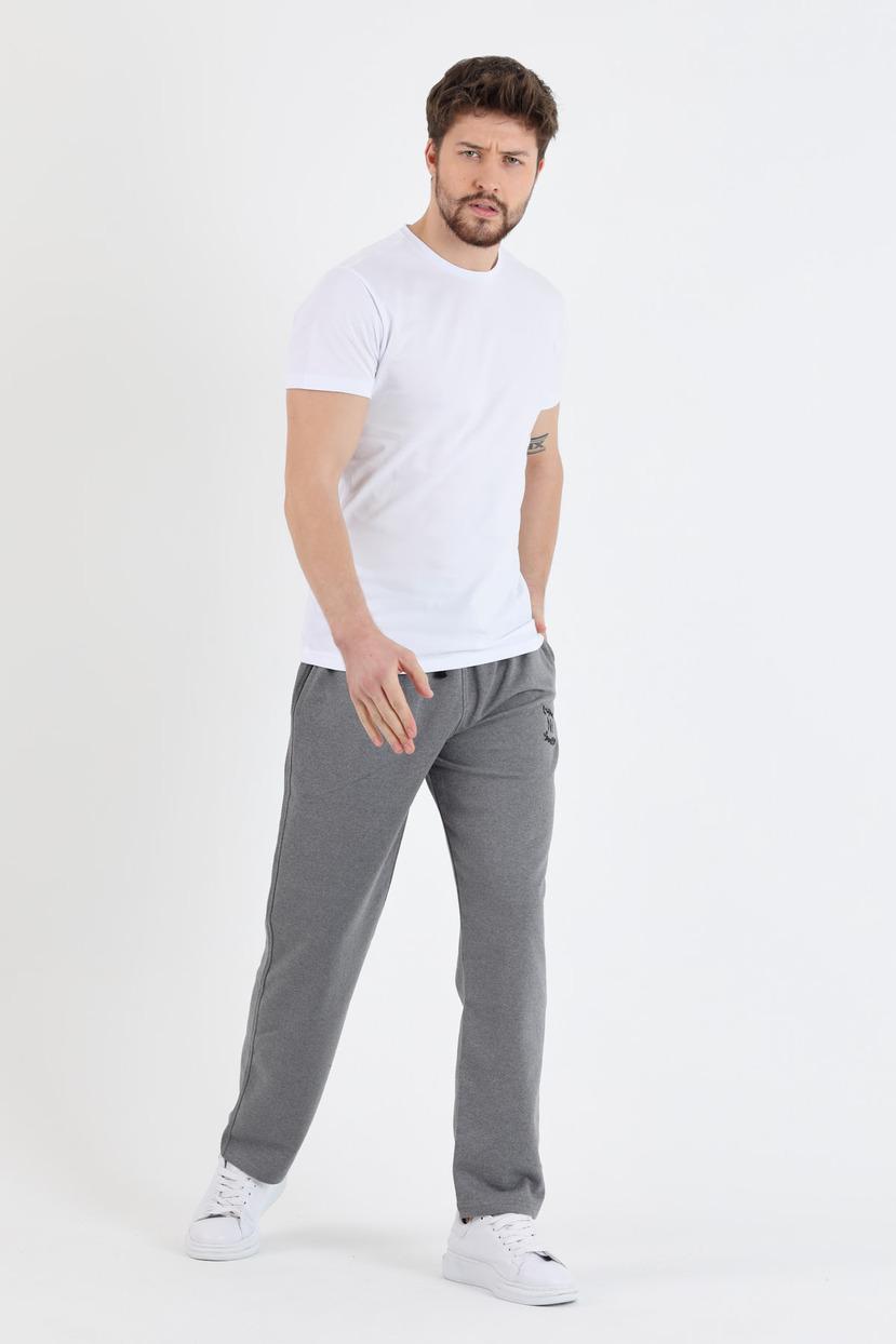 Men's Plain Black Sweatpants