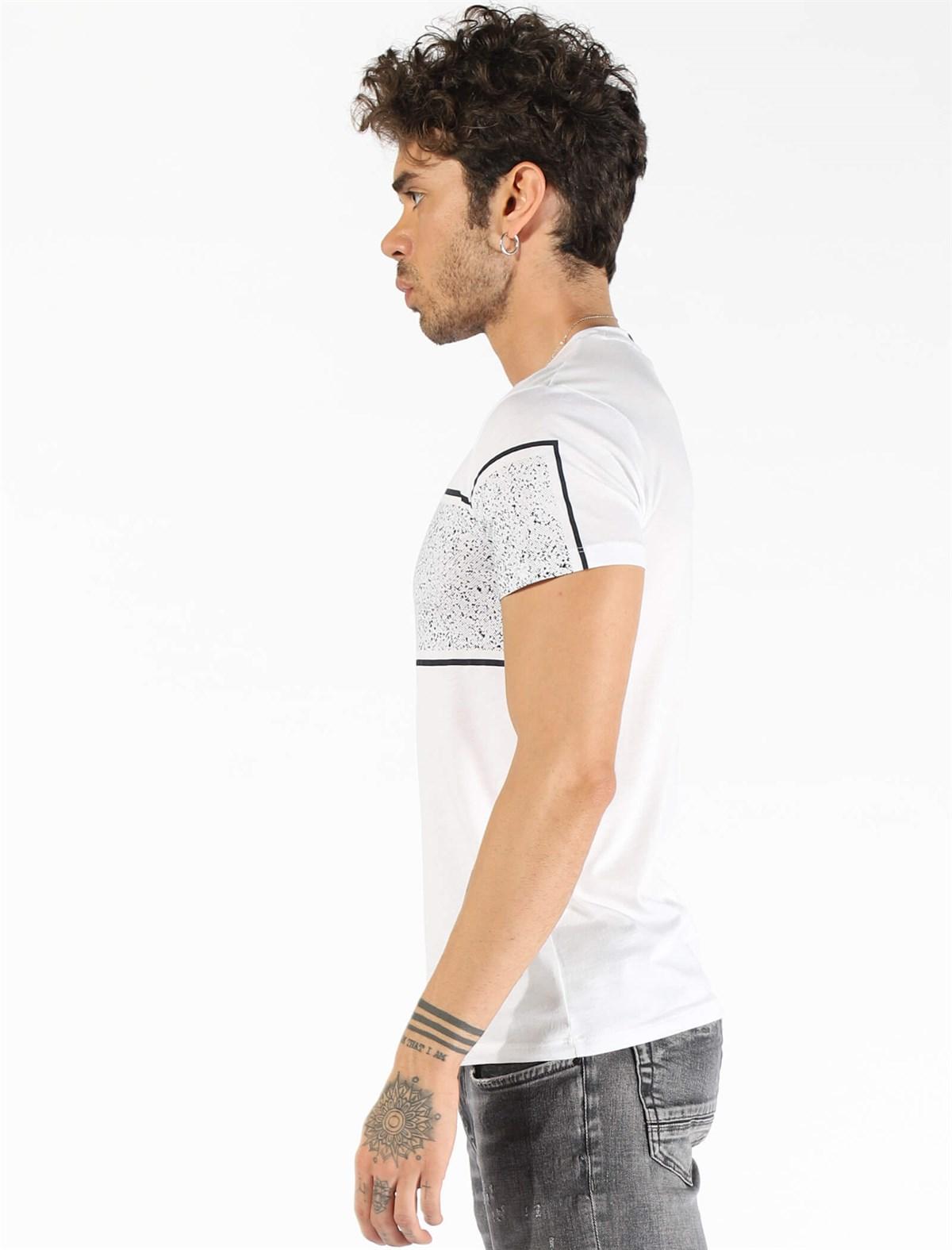 Men's Short Sleeve White T-shirt