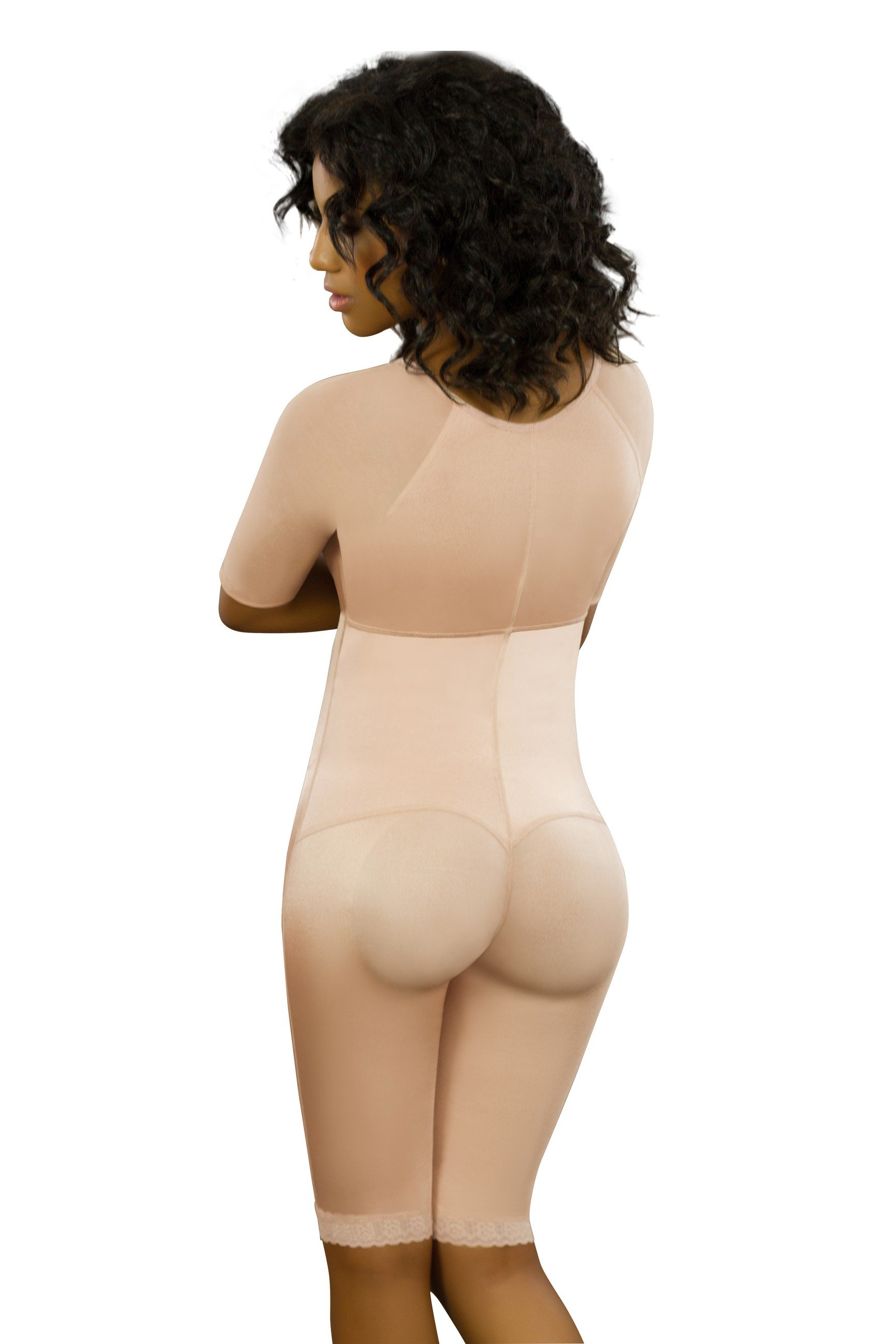 Women's Short Sleeves Full Body Corset