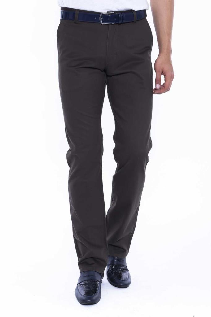 Back Pocket Half-Pleated Pants