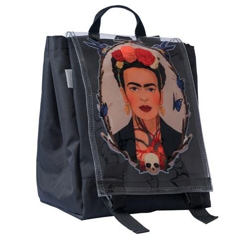 Women's Frida Print Flap Backpack