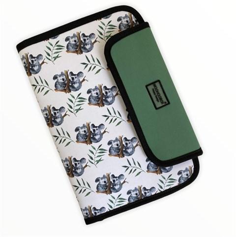 حقيبة تنظيم بطبعة كوالا مع دفتر