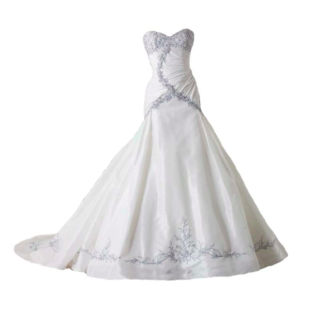 Wedding Gown (long) (Price may vary due to size, style, etc.)