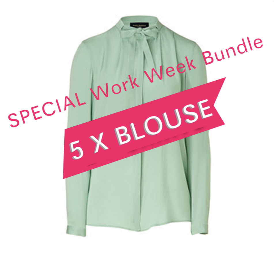 SPECIAL Work Week Bundle (5 Pc blouses)