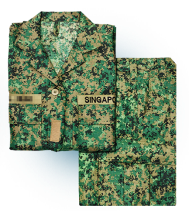 Army uniform (Top and bottom)