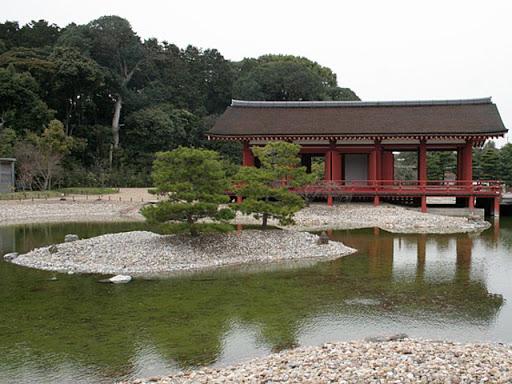 平城宮東院庭園