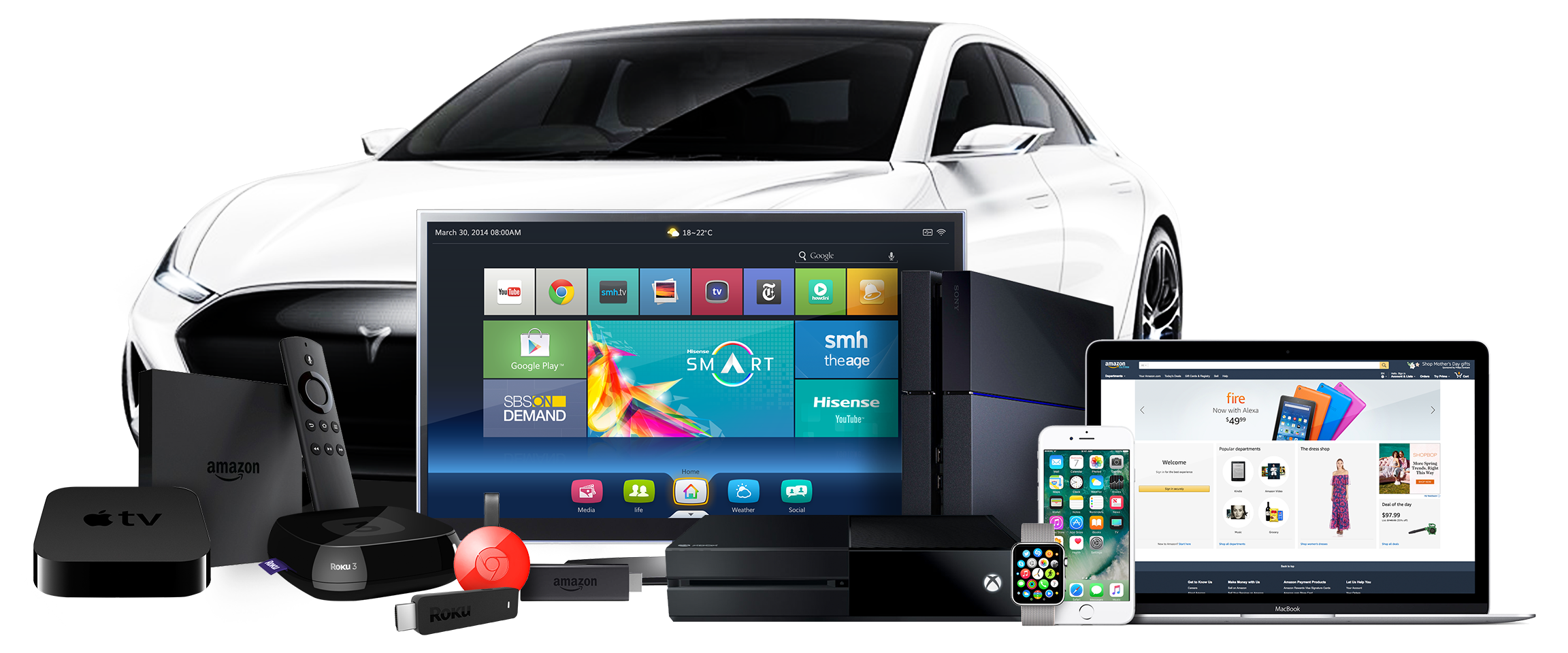 A collection of OTT devices, such as smart TVs, Roku, Amazon Fire Stick, and gaming consoles, smart homes and smart cars, to websites and mobile applications, the Unified Audience Platform is where marketers obtain the necessary data they need to create cohorts and new audiences and obtain a seamless picture of the user journey.