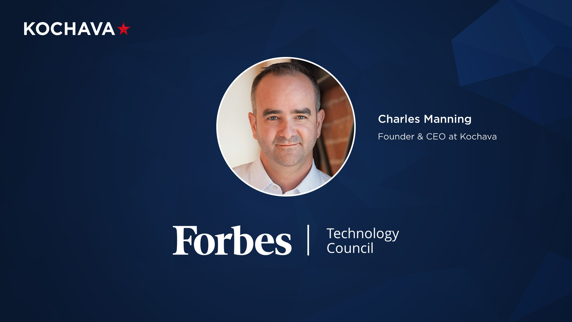 Forbes Tech Contributor Charles Manning