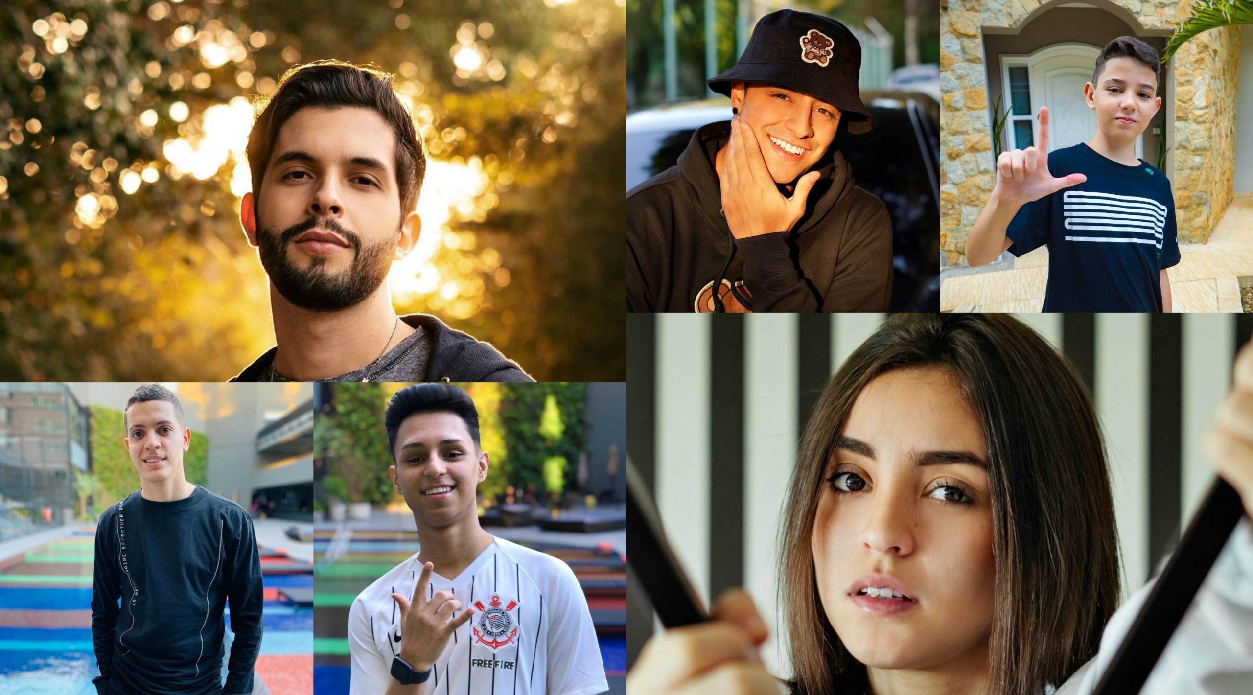 7 Influencers de Free Fire para você pegar a visão