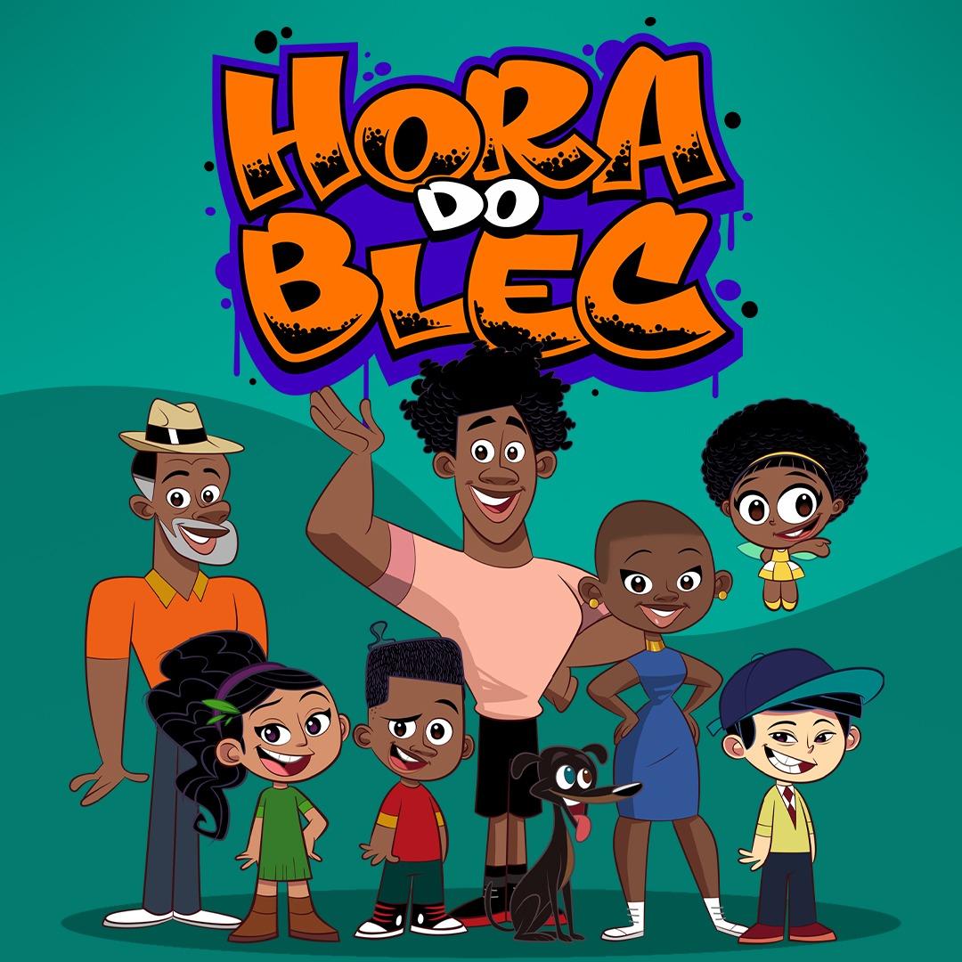 """Animação """"Hora do Blec"""" coloca crianças negras em lugar de destaque"""