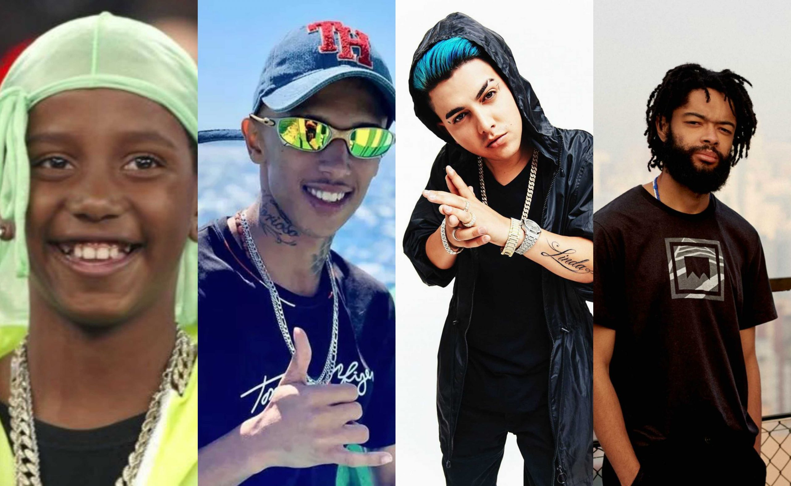 Caverinha e MC Kaverinha, MC Fioti e Fióti… conheça xarás do funk e do rap