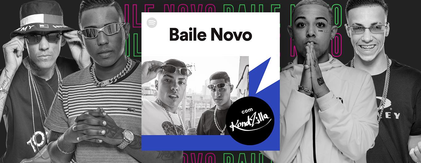 "Spotify e KondZilla se juntam na curadoria da playlist ""Baile Novo"""