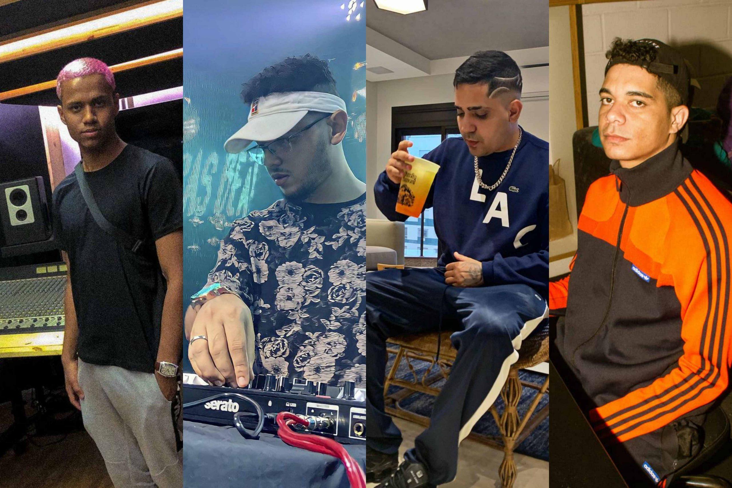 Quatro DJs e produtores de funk e trap para você conhecer agora