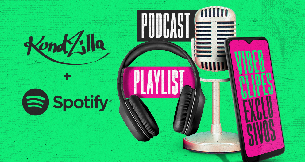 KondZilla e Spotify firmam parceria