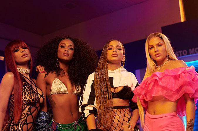 """""""Combatchy"""", videoclipe de Anitta, Lexa, Luisa Sonza e MC Rebecca vence a categoria mais esperada do Prêmio Multishow 2020"""