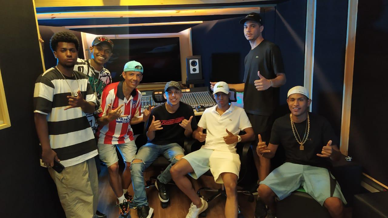 Kyan e MU540 colaram na KondZilla para gravar com artistas da casa, mais uma junção do funk com o trap