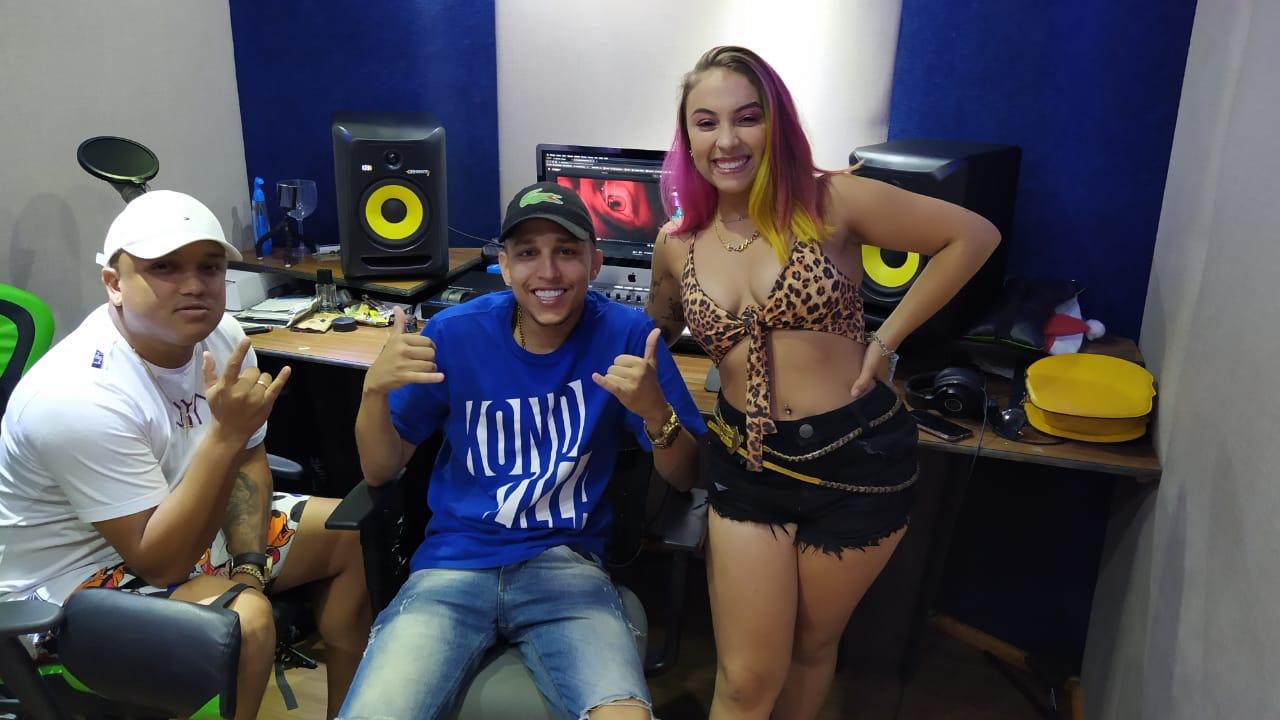 Os MC's Lynne e Vinny prometem bomba com produção do DJ Loirin