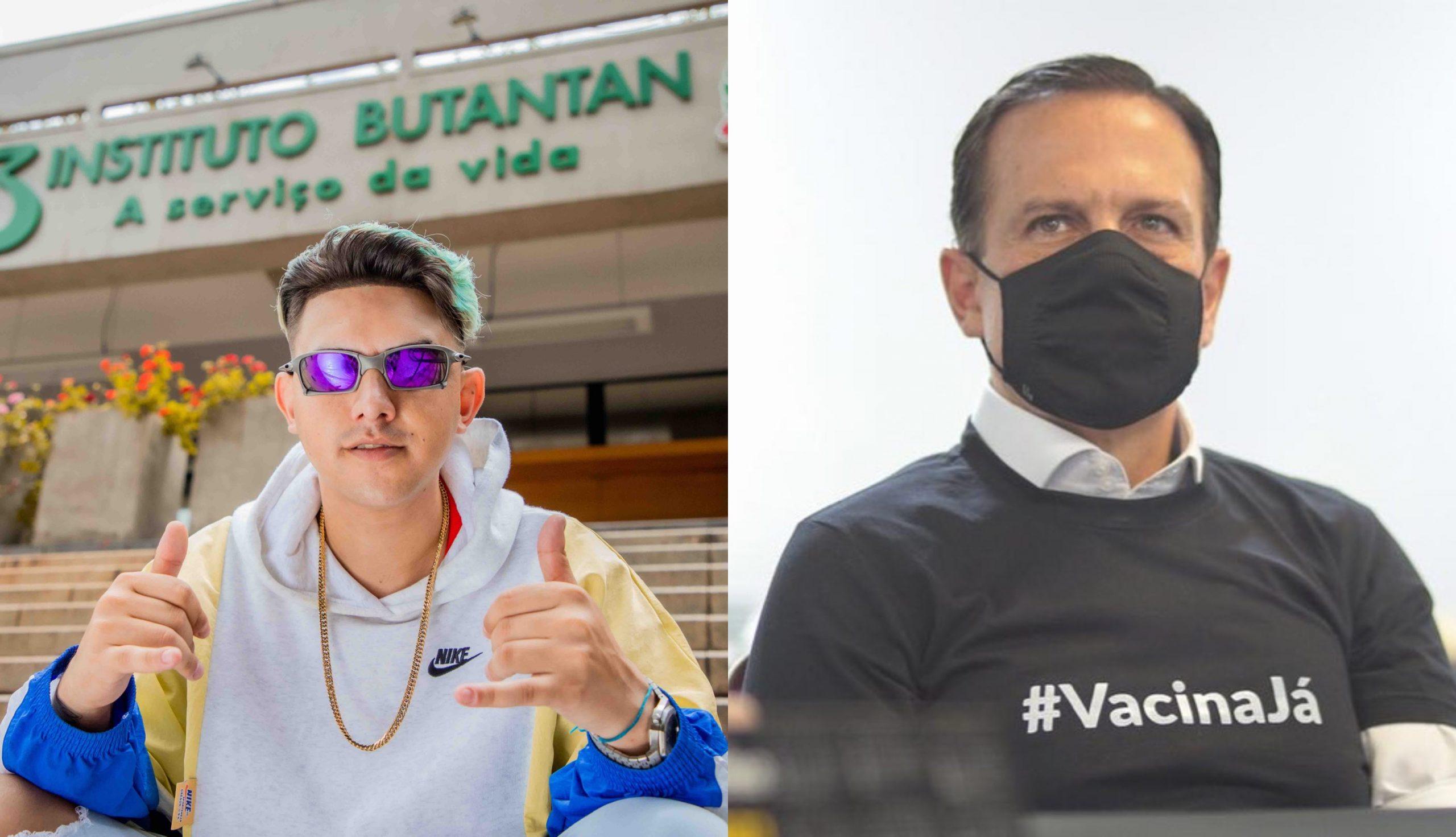 """Governador de SP parabeniza MC Fioti pela música """"Bum Bum Tam Tam"""""""